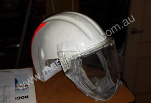 Or  3M HELMET AND FACE SHIELD