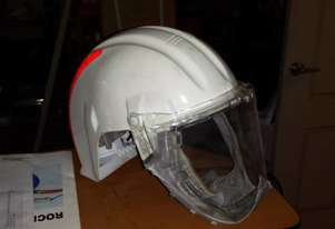 3M HELMET AND FACE SHIELD