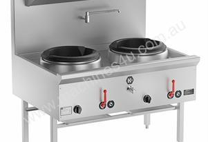B+S UFWWK-2 Twin Water-less Wok