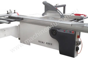PRIMA 2500mm Panel Saw. Cast saw unit, precise sliding table, independent scorer
