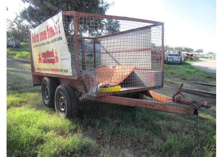 Used Custom Trailers - Light Tow for sale - 2002 Custom Dual Axle ...