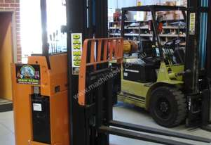 NYK Electric reach stand behind 1.2 tonne forklift