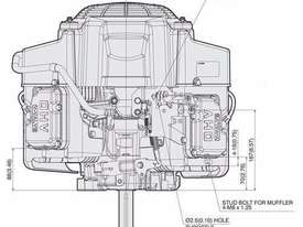 Kawasaki FS651V 22.0HP Petrol Lawnmower Engine - picture1' - Click to enlarge