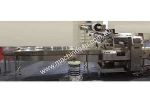 Horizontal Flow Wrapper (Electronic, Rotary Jaw) - Stainless Steel