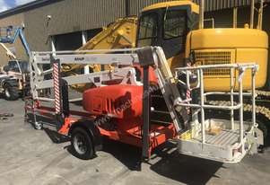 Used Snorkel Trailer Mounted Boom Lift MHP 13/35