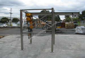 Stainless Gantry Crane Frame - No Hoist Included