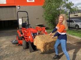 Kioti CS 2610 Compact Tractor with Loader & 4in1 Bucket. - picture0' - Click to enlarge