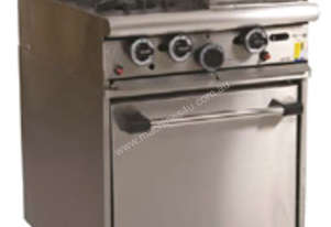 Trueheat Gas 2 Open Top Burners 300 Griddle Gas Oven R60-2-30GR