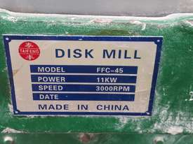 Disk Mill FFC-45 - picture4' - Click to enlarge