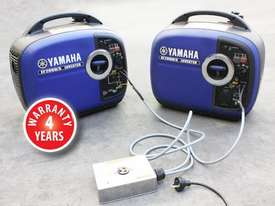 Yamaha 2000w Inverter Generator - picture17' - Click to enlarge