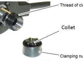 Tapping Chuck Reversible Head Adjustable Clutch Metex M5 to M12/B16-MT3/MT2/MT4 Arbor - picture4' - Click to enlarge