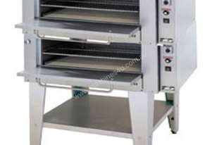 Goldstein Pizza Oven Two Cavities with Glass Door