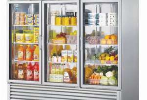 Mitchel Refrigeration Glass 3 Door Refrigerator
