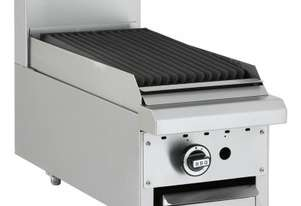 Luus BCH-3P-B Gas Fryer with 300mm Benchtop Grill Essentials Series