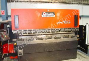 Amada APX103 Upstroking Press Brake