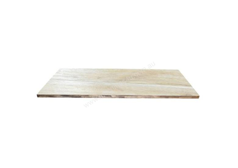 F.E.D. SL-RE128LB Light Benchwood Rectangle1200x700mm Solid Wood Table Top