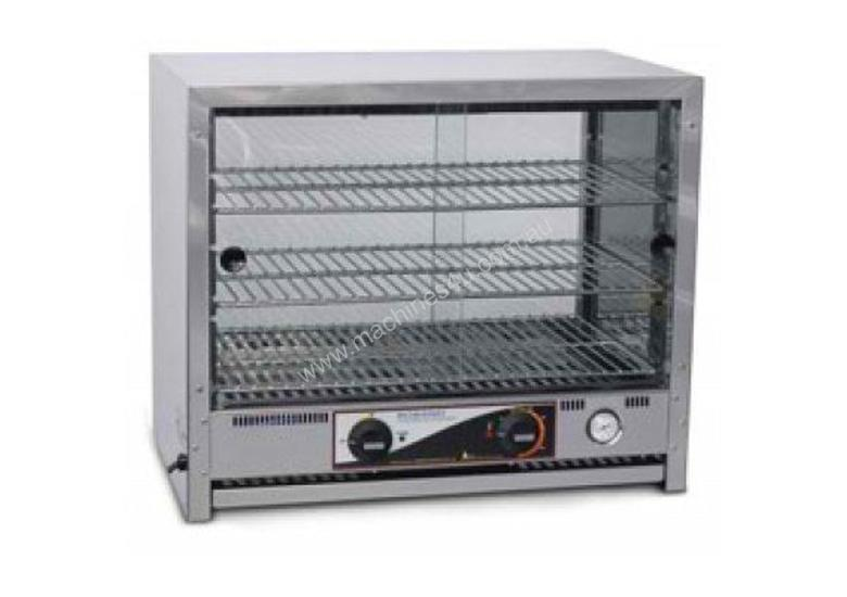 Roband PA80L - 80 Capacity Square Top Pie and Food Warmers