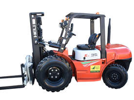 HELI 3.5T All Terrain Diesel Forklift Buggy with Rotator FOR SALE - picture12' - Click to enlarge