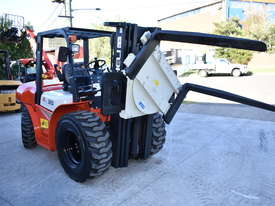 HELI 3.5T All Terrain Diesel Forklift Buggy with Rotator FOR SALE - picture0' - Click to enlarge