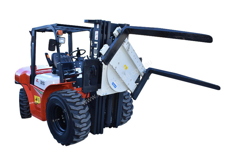 HELI 3.5T All Terrain Diesel Forklift Buggy with Rotator