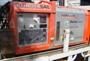 KUBOTA SINGLE PHASE DIESEL GENERATOR LOT 89