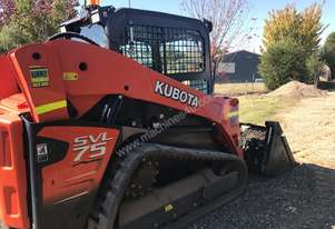 Kubota SVL 75 With Attachments