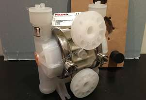 Unused Wilden P2 Plastic Diaphragm Pump - 1 inch (25mm)