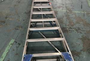 Ullrich Aluminium 2 Meter Platform Step Ladder Light Weight