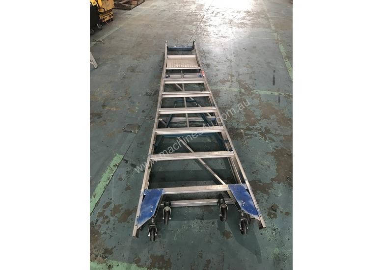 Magnificent Ullrich Aluminium 2 Meter Platform Step Ladder Light Weight Onthecornerstone Fun Painted Chair Ideas Images Onthecornerstoneorg