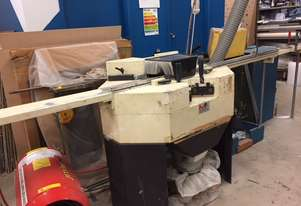 PICTURE FRAMING MACHINERY -DOUBLE MITRE SAW & GUILTINE & DUST COLLECTOR