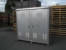 Stainless Steel Outdoor Storage UPS Battery Electrical Data Cabinet Enclosure - picture0' - Click to enlarge