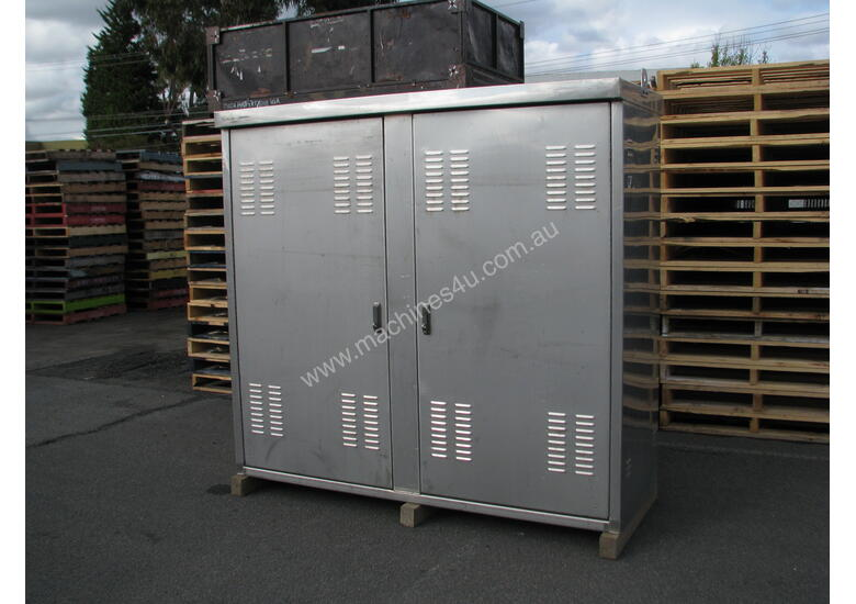 Stainless Steel Outdoor Storage UPS Battery Electrical Data Cabinet Enclosure
