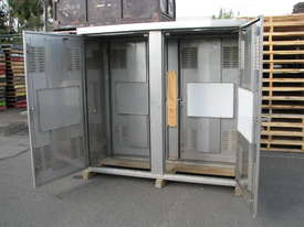 Stainless Steel Outdoor Storage UPS Battery Electrical Data Cabinet Enclosure - picture1' - Click to enlarge
