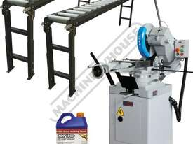 CS-350V Cold Saw, Roller Conveyor & Stand Package Deal 160 x 90mm Rectangle Capacity Variable Blade  - picture0' - Click to enlarge