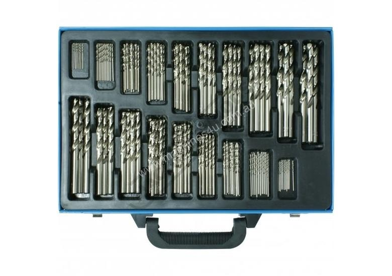 D126 Metric Precision HSS Drill Set - 170 Pieces Ø1 - Ø10mm 0.5mm Increments