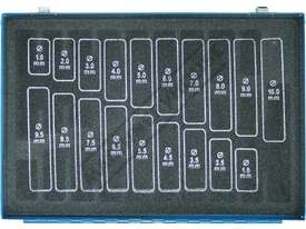 D126 Metric Precision HSS Drill Set - 170 Pieces Ø1 - Ø10mm 0.5mm Increments - picture2' - Click to enlarge