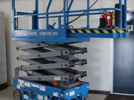 Scissor Lift  - 19' (7.79m) Narrow Electric  - picture4' - Click to enlarge