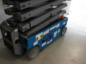 Scissor Lift  - 19' (7.79m) Narrow Electric  - picture10' - Click to enlarge