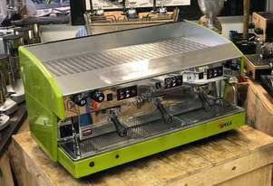 WEGA ATLAS 3 GROUP ESPRESSO COFFEE MACHINE GREEN