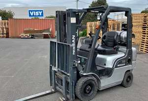 NISSAN L01A18JU 1.8T LPG CONTAINER MAST FORKLIFT - 4.3m High 1800kg Capacity