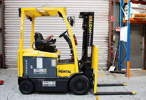 1.77T Battery Electric 4 Wheel Battery Electric Forklift