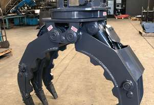 Rotating Grapple to suit Excavator