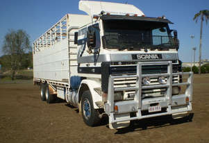 Scania R113H Stock/Cattle crate Truck