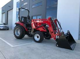 TYM T413 Tractor with 4in1 Front end Loader - Yanmar Engine - Hydrostatic Transmission - picture0' - Click to enlarge