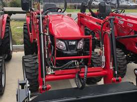 TYM T413 Tractor with 4in1 Front end Loader - Yanmar Engine - Hydrostatic Transmission - picture1' - Click to enlarge