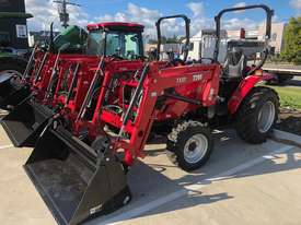 TYM T413 Tractor with 4in1 Front end Loader - Yanmar Engine - Hydrostatic Transmission - picture2' - Click to enlarge
