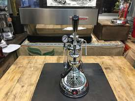 LA PAVONI LEVA MILANO 1 GROUP CHROME BRAND NEW ESPRESSO COFFEE MACHINE - picture2' - Click to enlarge