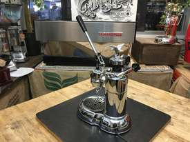 LA PAVONI LEVA MILANO 1 GROUP CHROME BRAND NEW ESPRESSO COFFEE MACHINE - picture5' - Click to enlarge