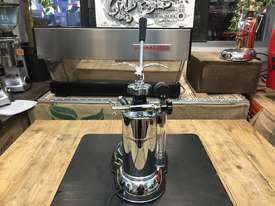 LA PAVONI LEVA MILANO 1 GROUP CHROME BRAND NEW ESPRESSO COFFEE MACHINE - picture6' - Click to enlarge