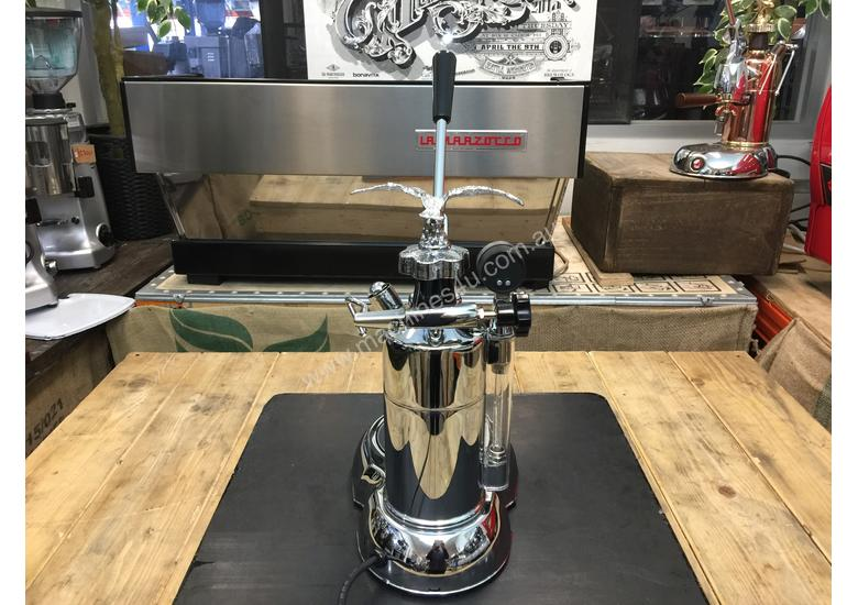 LA PAVONI LEVA MILANO 1 GROUP CHROME BRAND NEW ESPRESSO COFFEE MACHINE